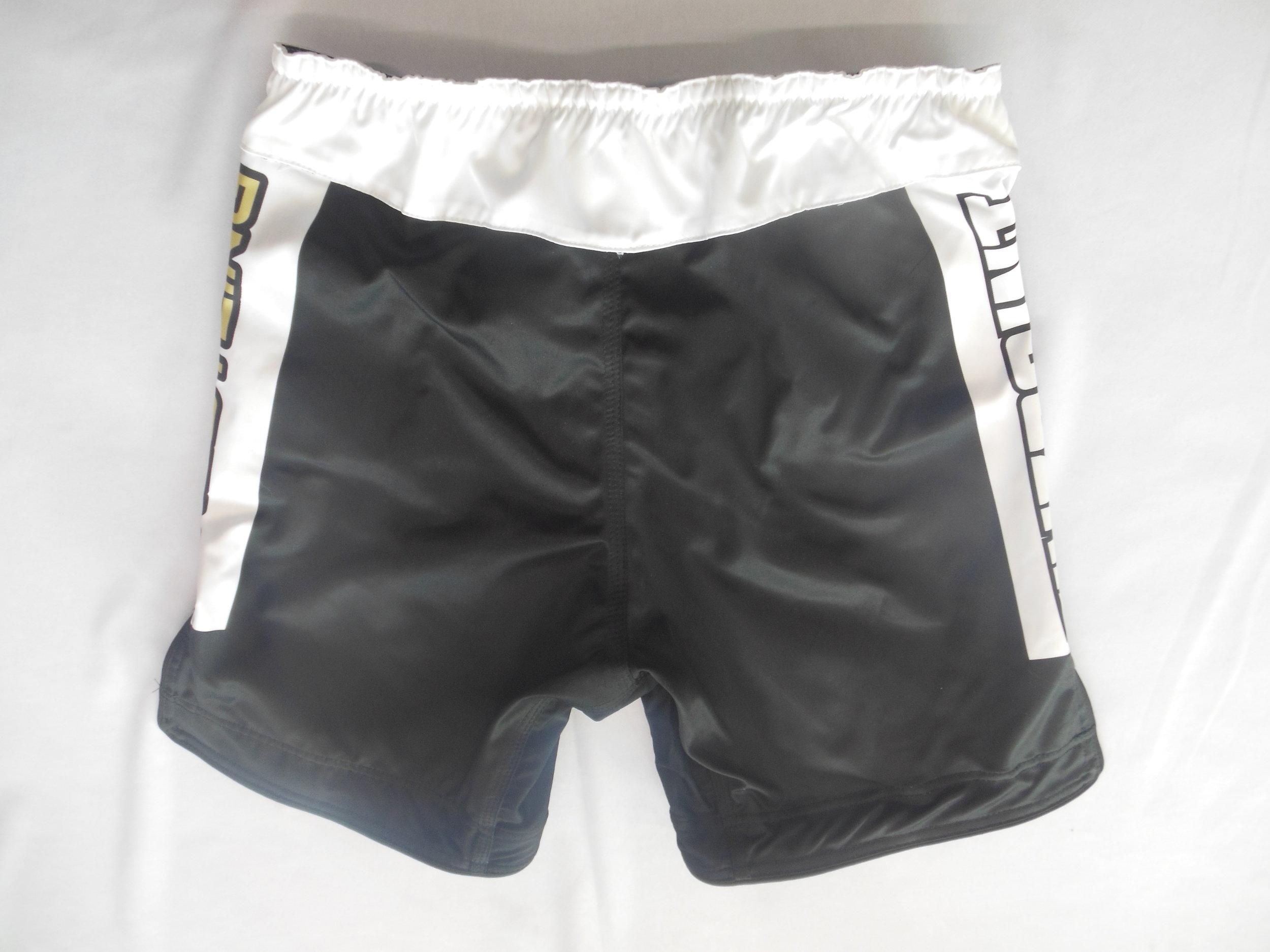 White and Black Baseball Uniforms, Shorts