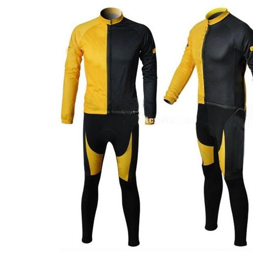Black and Yellow Baseball Uniforms, Jacket and Pants