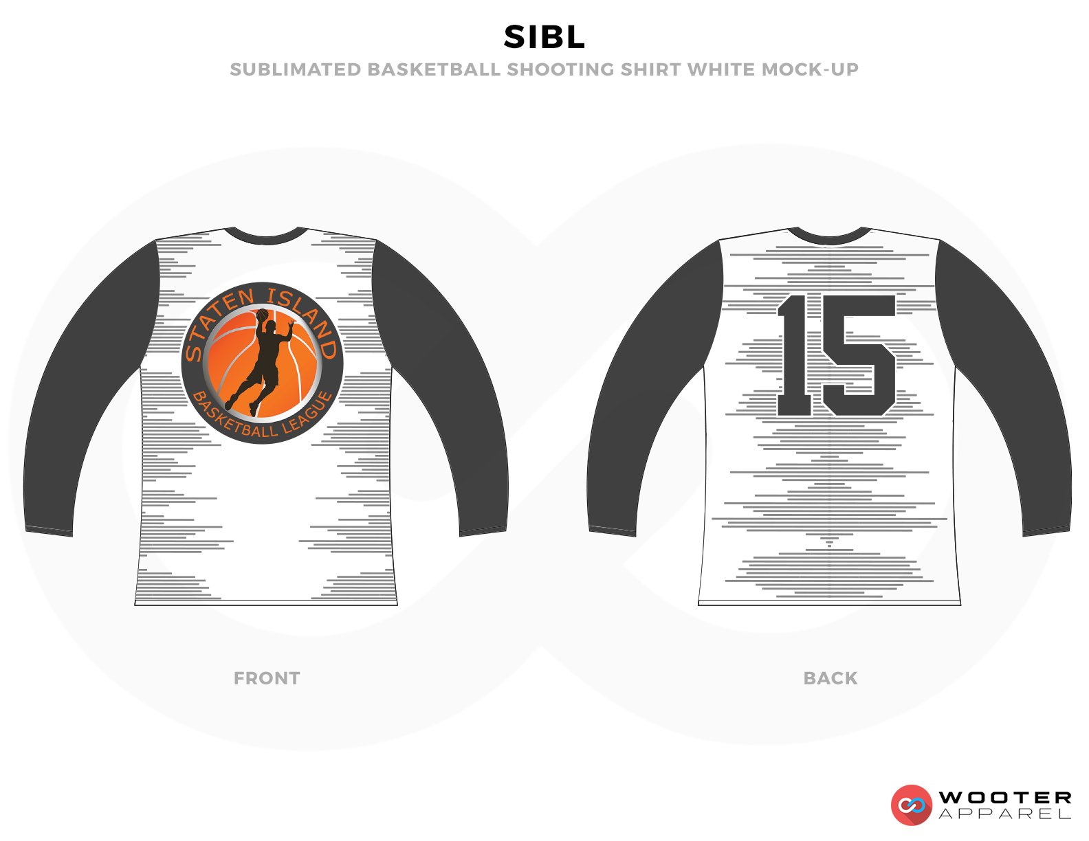SIBL White Grey Oringe and black Basketball Uniforms, Jersey