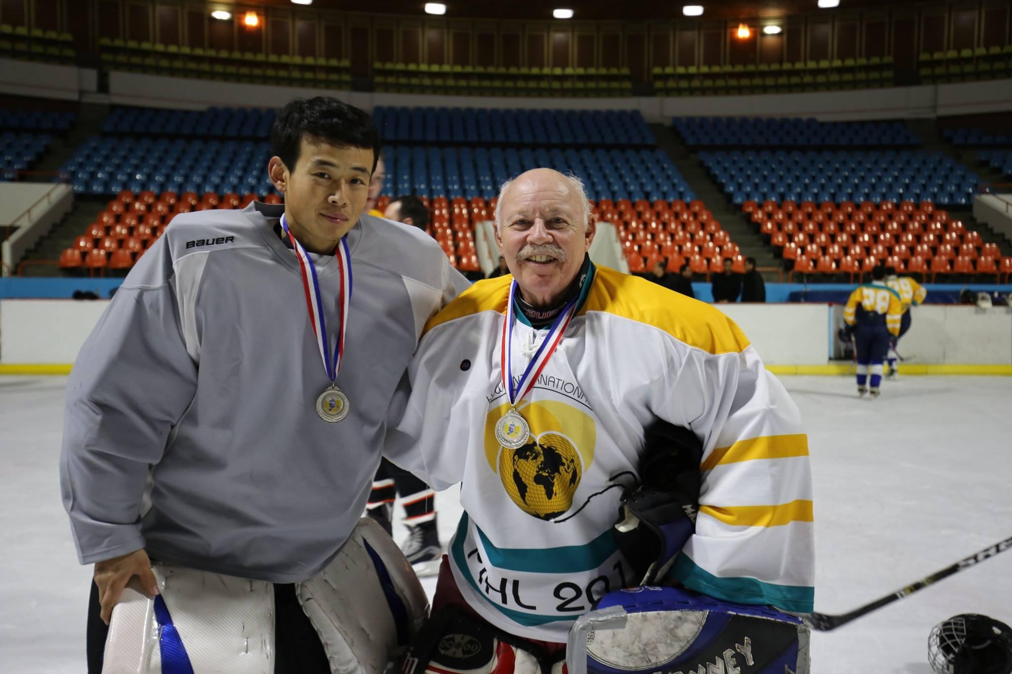 Yellow White skyblue hockey uniforms jerseys