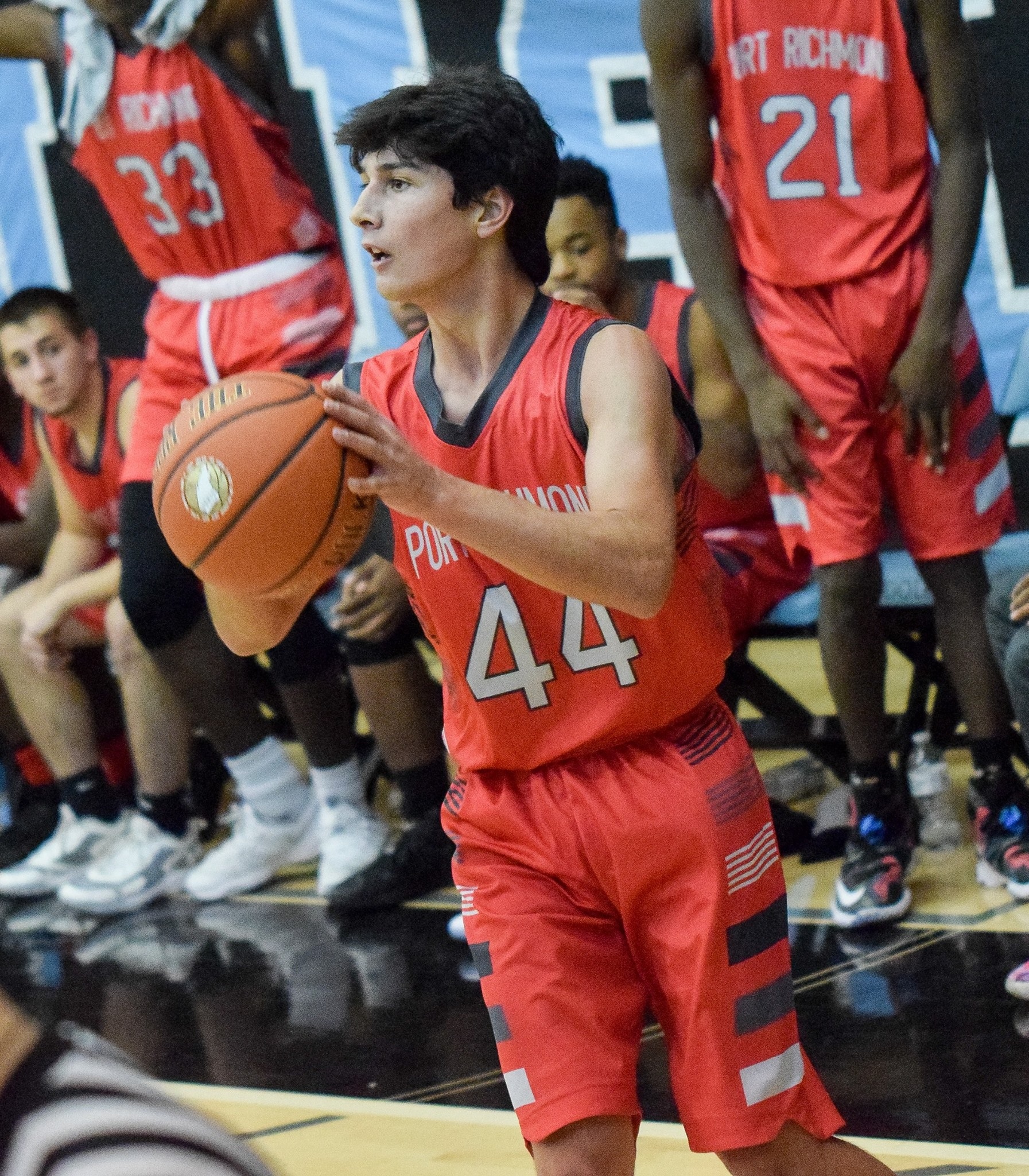 Orange White Gray Black School basketball uniforms jerseys tops, shorts