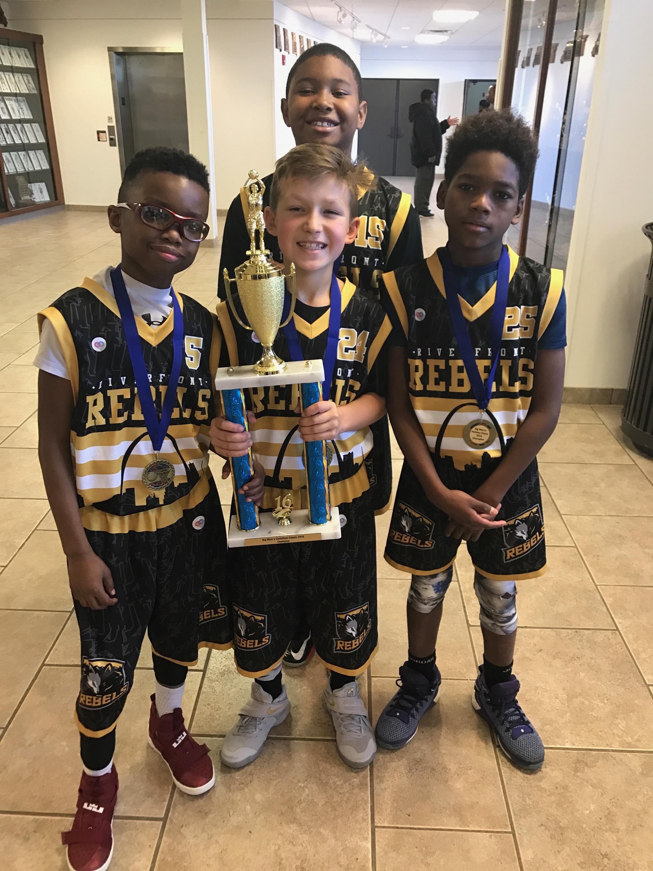 REBELS yellow white black Youth Basketball Uniforms jerseys and shorts