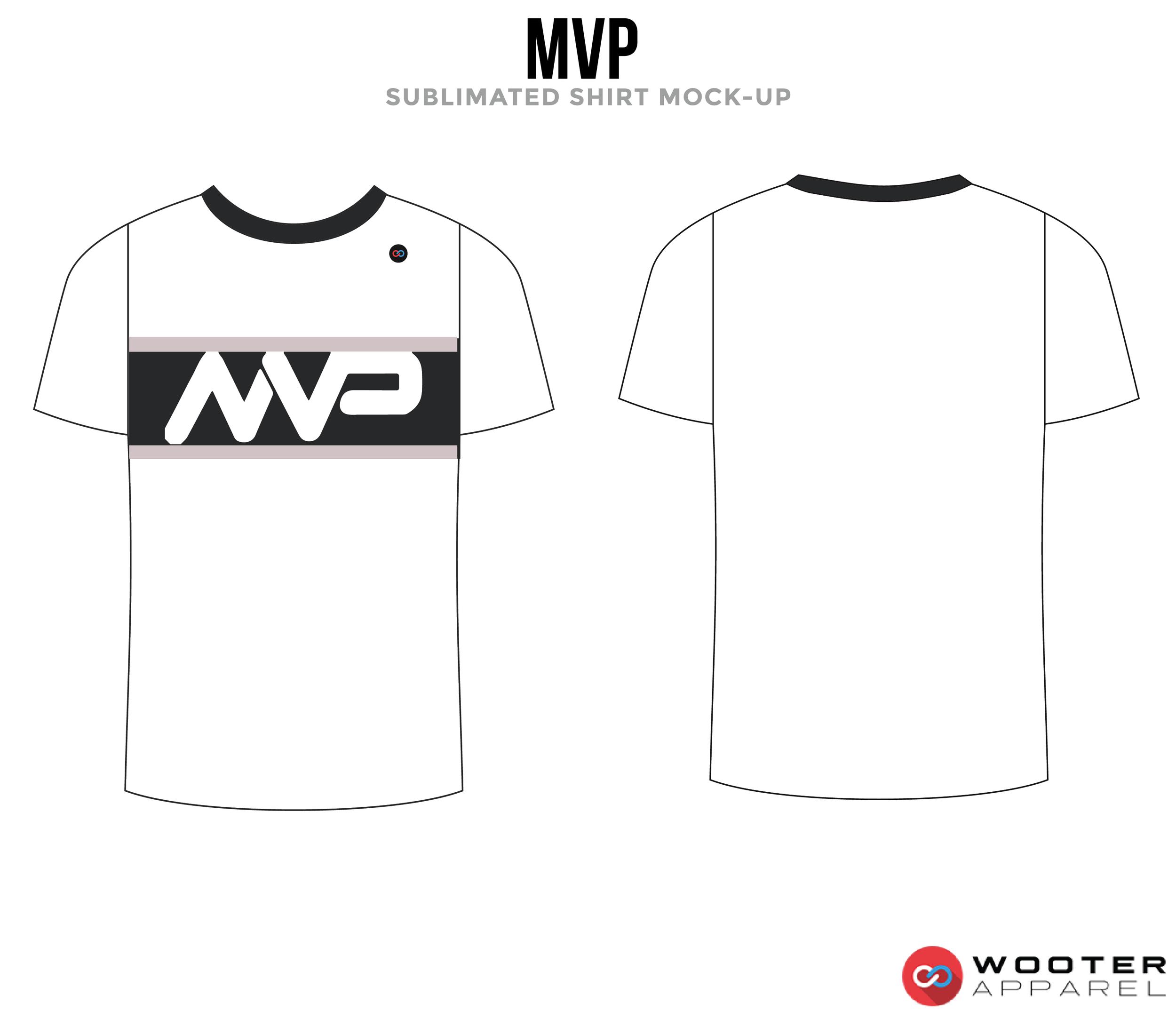 MVP Black and White Premium Shooting Shirt