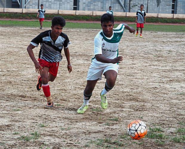 White Green soccer uniforms jerseys, shorts