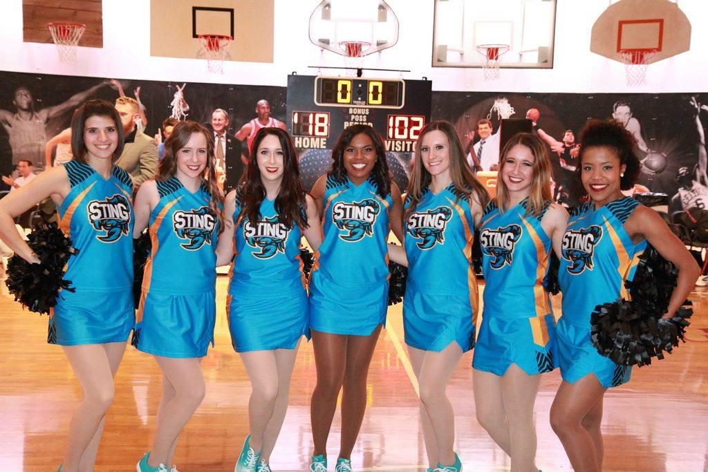 Blue gold white New HD Cheerleading uniform jerseys skirts