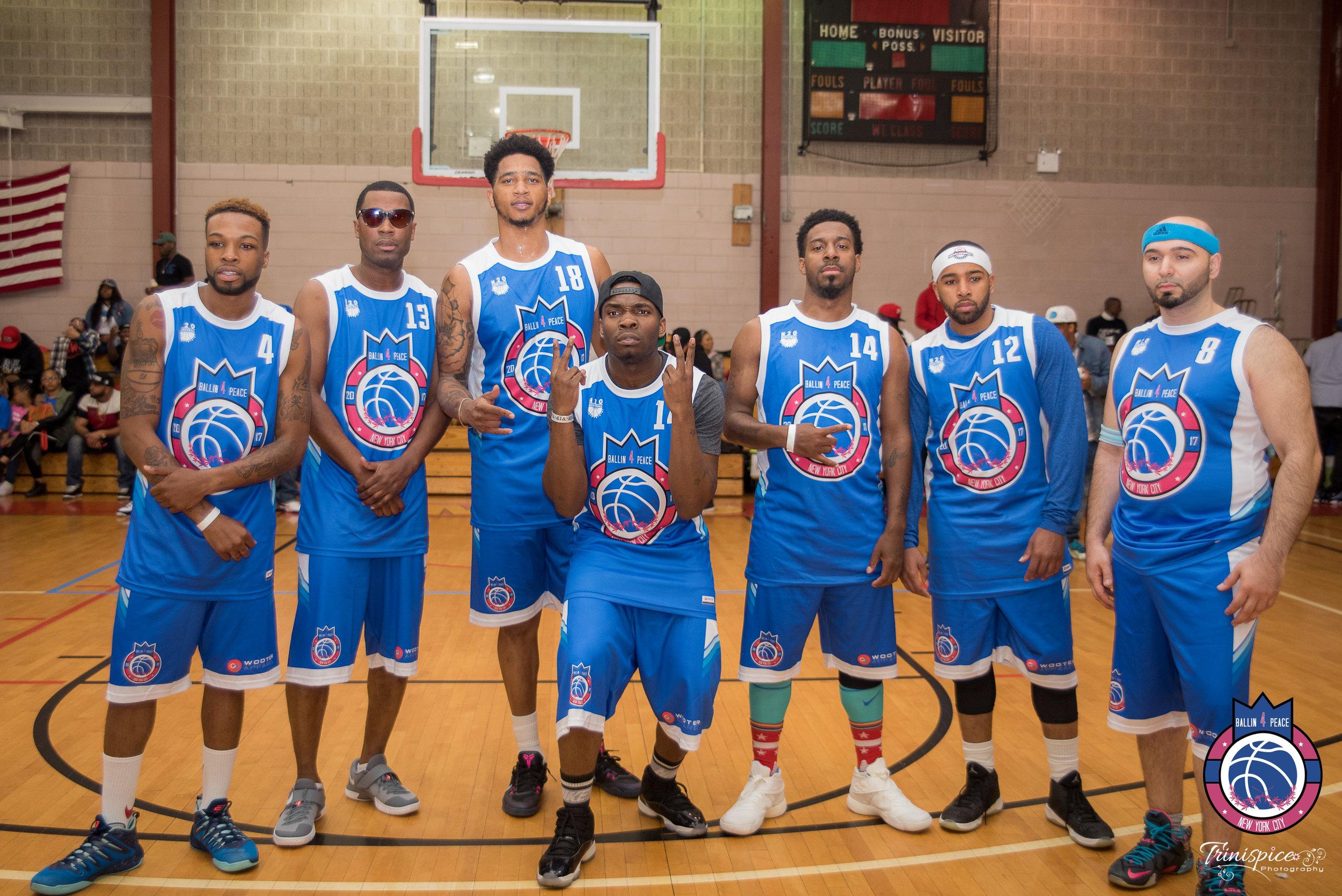 Blue red white VIP celeb basketball uniform jerseys shirts and shorts