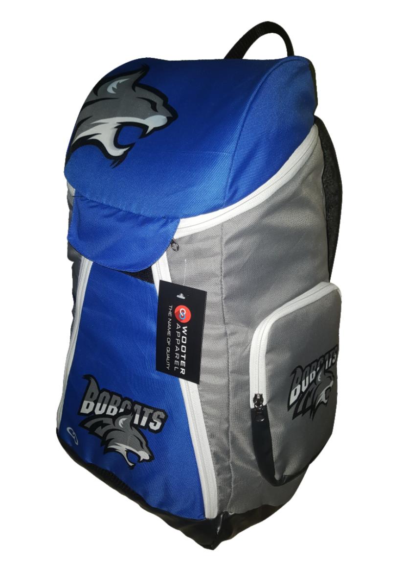 Blue Gray White Black  basketball, baseball, backpacks
