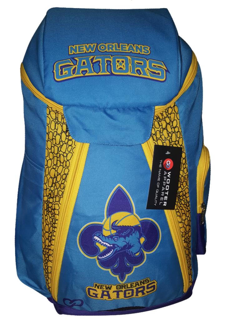 Skyblue yellow blue black  basketball, baseball, backpacks