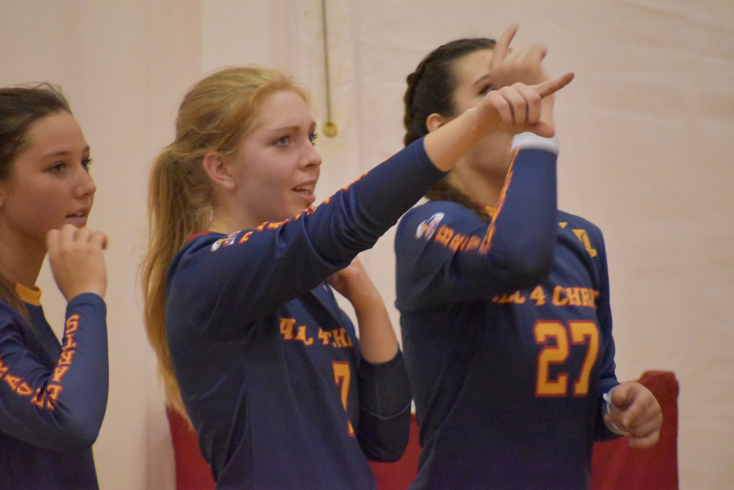 Blue Red Yellow Black volleyball uniforms jersey shirts, shorts