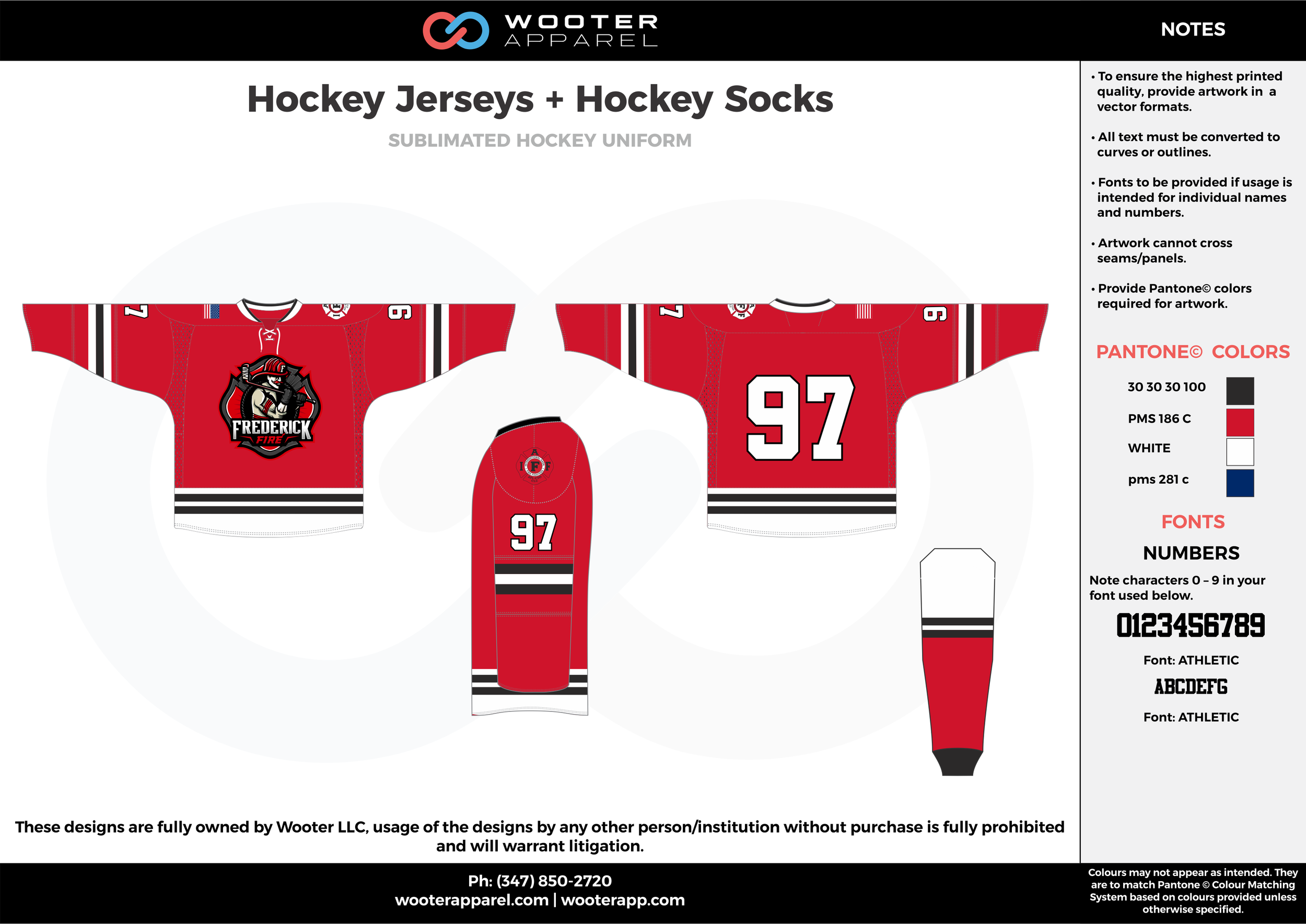 Hockey Jerseys + Hockey Socks red blue white black hockey uniforms jerseys socks