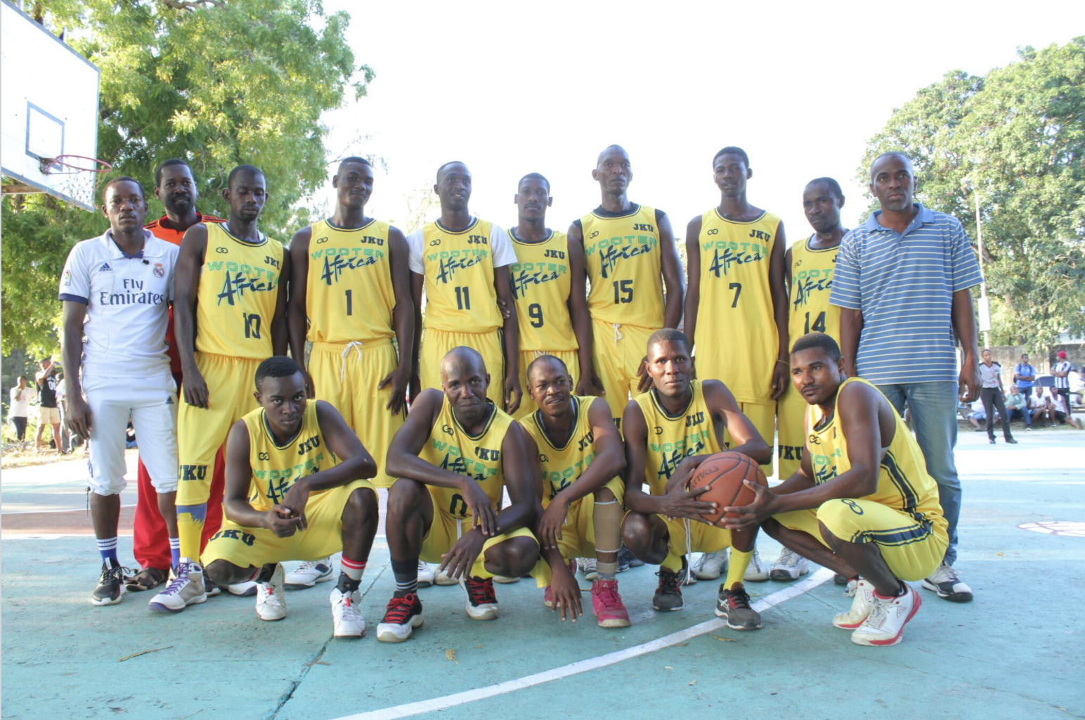 In September 2017, Wooter designed basketball uniforms and launched an entire 12-team basketball league in Zanzibar, Tanzania (Africa), which also includes a digital platform for officials, statistics and league website all  managed through the Wooter App .