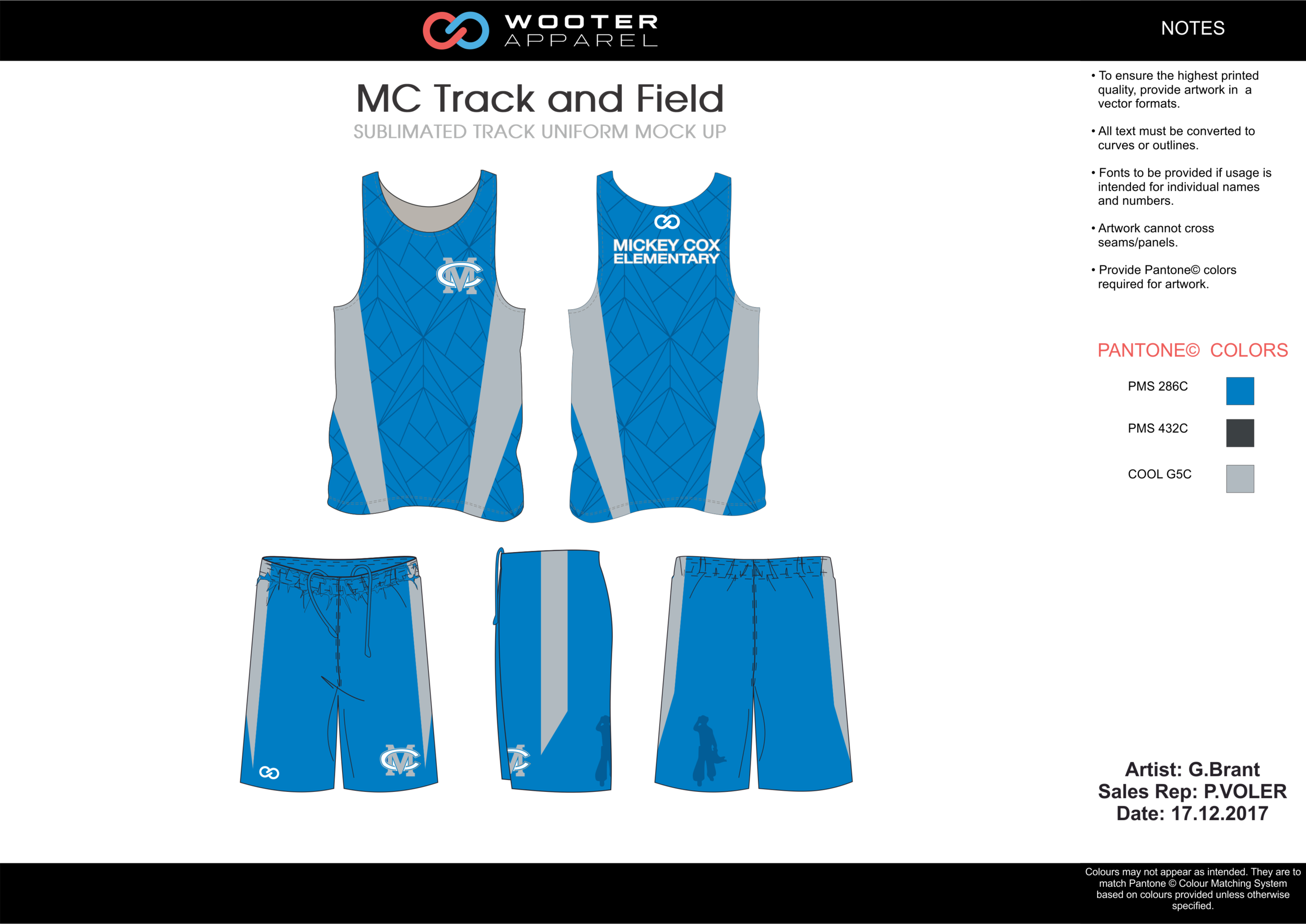 MC Track and Field Skyblue Black Gray and White Basketball Track Uniforms Jerseys and Shorts