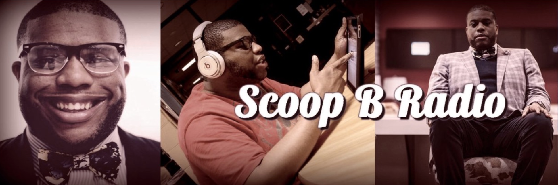 "Brandon ""Scoop B"" Robinson has literally grown up covering professional sports and entertainment for the past two decades, launched Scoop B Radio two years ago, and recently collaborated on his own apparel line with Wooter Apparel. The best part: Scoop B is just getting warmed up."