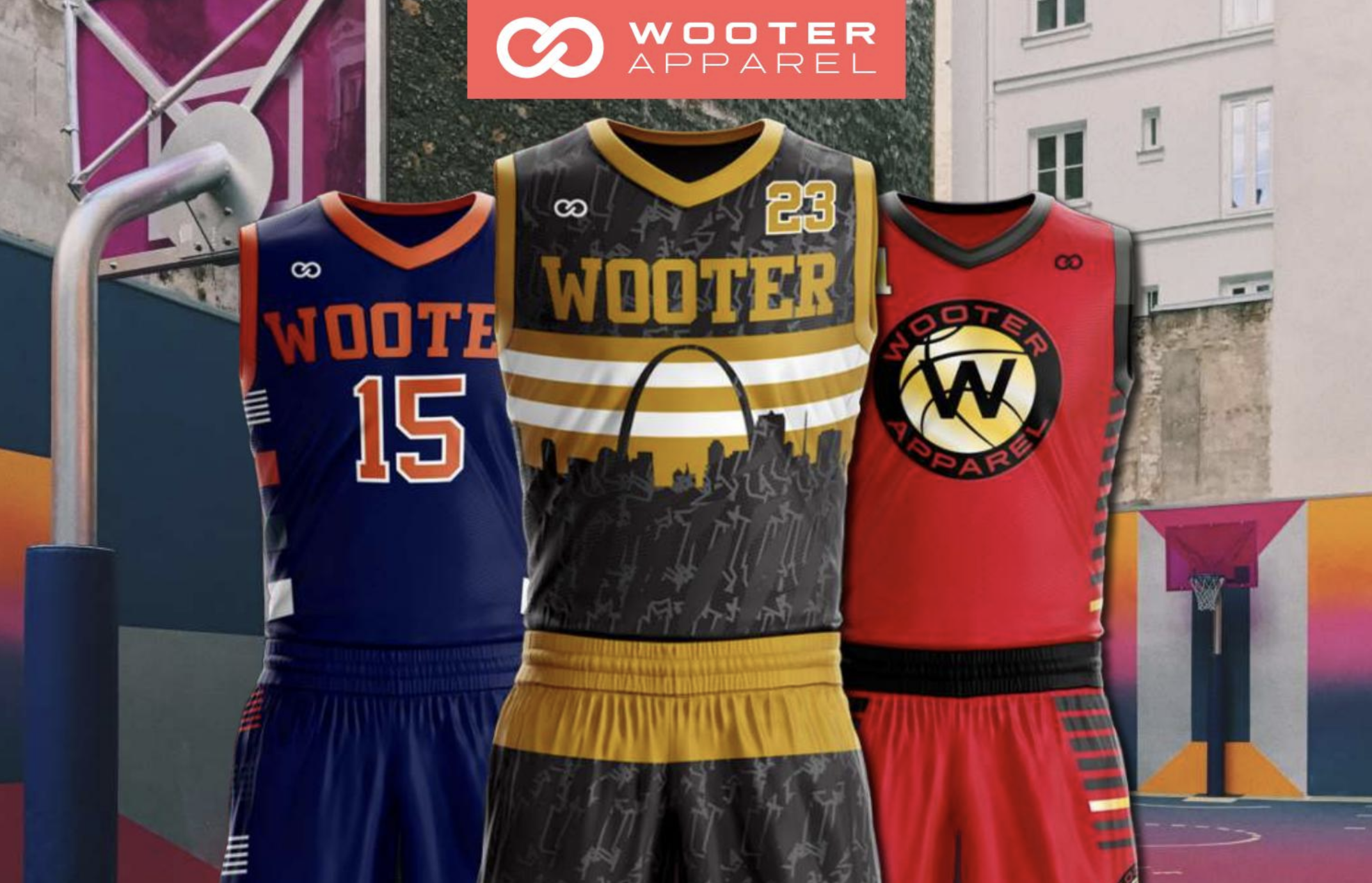 Teams from recreational leagues, youth sports, college and professional sports, have partnered with Wooter Apparel and have their league featured on the Wooter App.