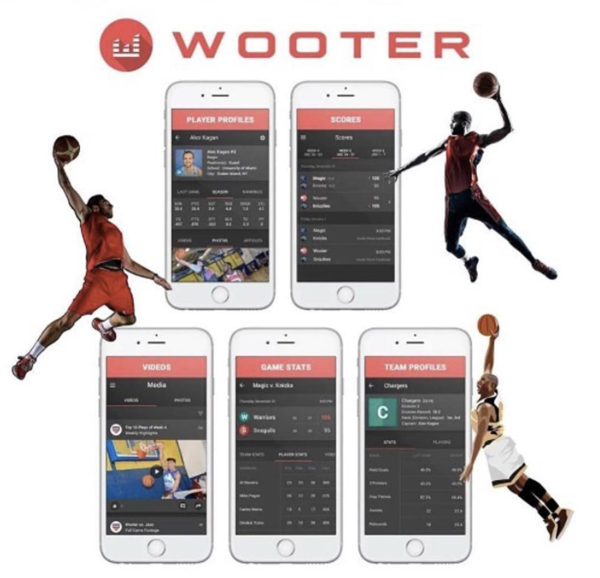 Since first launching the Wooter App, over 20 custom apps have been built, 1000+ leagues created, and 100,000+ users signed up to help manage their team, league, or tournament.