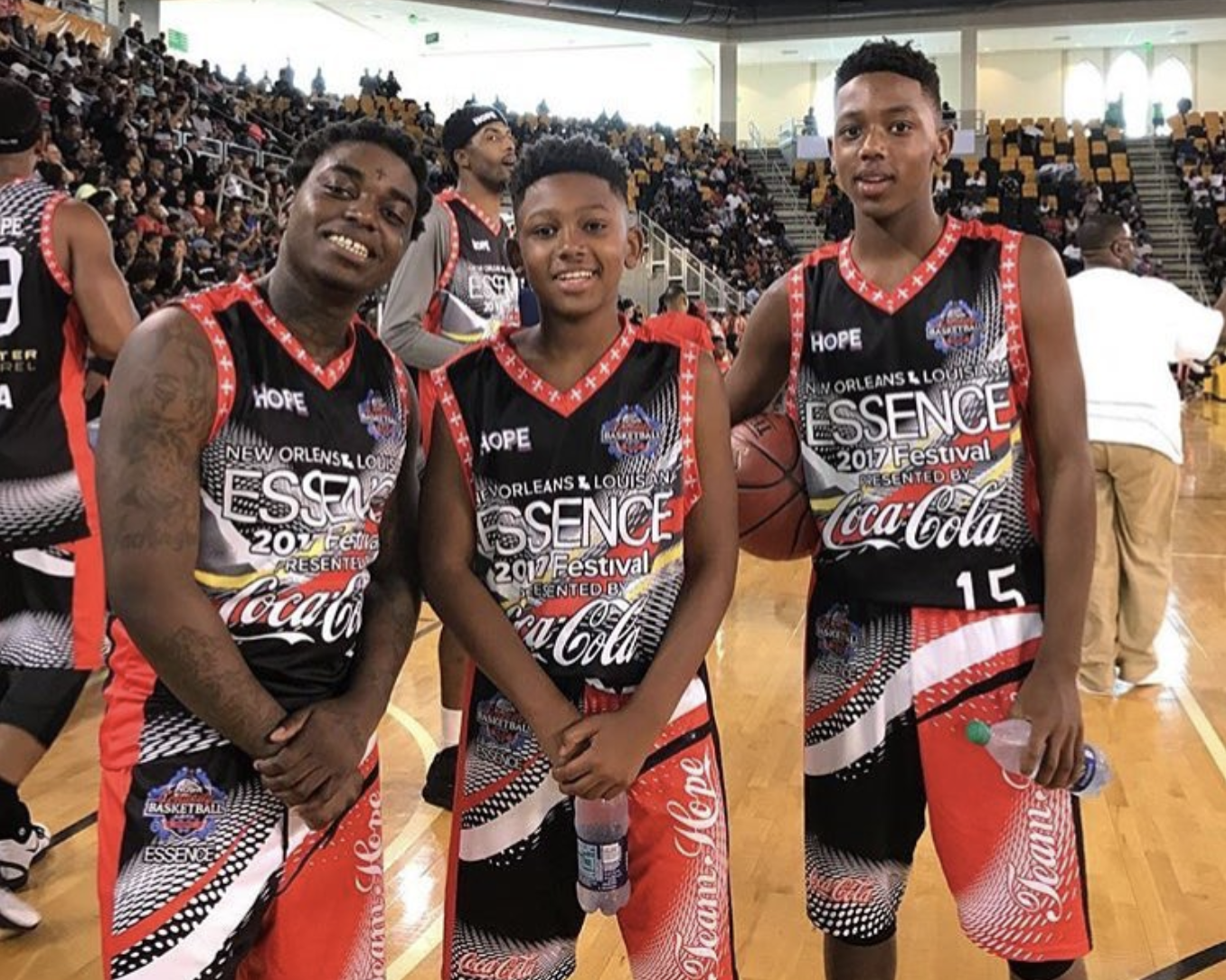 Last June, Wooter Apparel outfitted Master P's NOLA Celebrity Basketball Game at the 2017 Essence Festival with full sublimation printed uniforms.