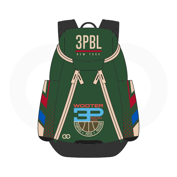 3PBL Green White Blue Red and Black Basketball Backpacks Nike Elite