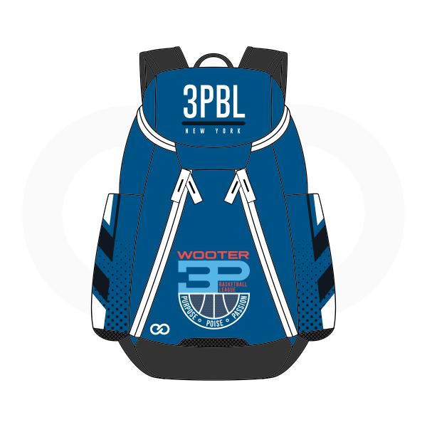 3PBL Blue Red White and Black Basketball Backpacks Nike Elite