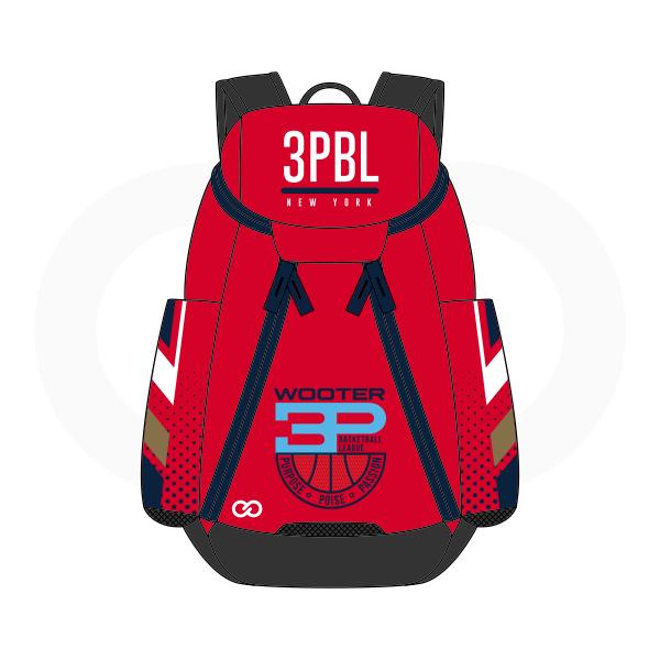 3PBL White Blue Red Brown and Black Basketball Backpacks Nike Elite