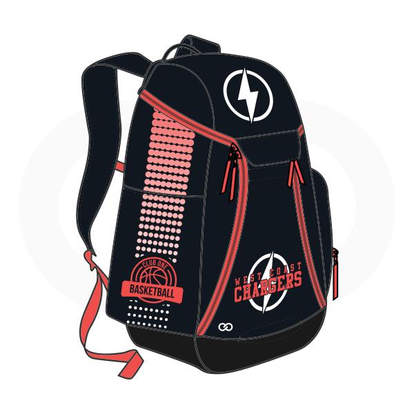 Black White and Red Basketball Backpacks Nike Elite