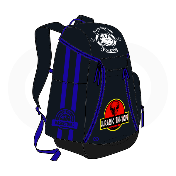 Black Blue and White Basketball Backpacks Nike Elite