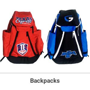 AS LOW AS:  $64.99/BACKPACK   OR:  $54.99/Duffle BAG