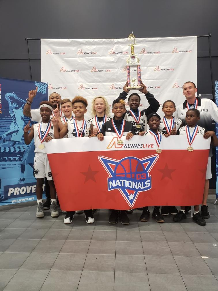 Youth D3 NATIONALS White Black basketball uniforms, jerseys, and shorts