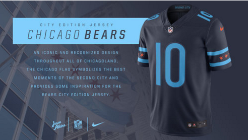 """When it comes to daydreaming what NFL uniforms might look like in a """"City Edition"""" version for all 32 teams, veteran creative director and brand consultant Jesse Alkire took a page from Nike's NBA collection and threw a big touchdown."""