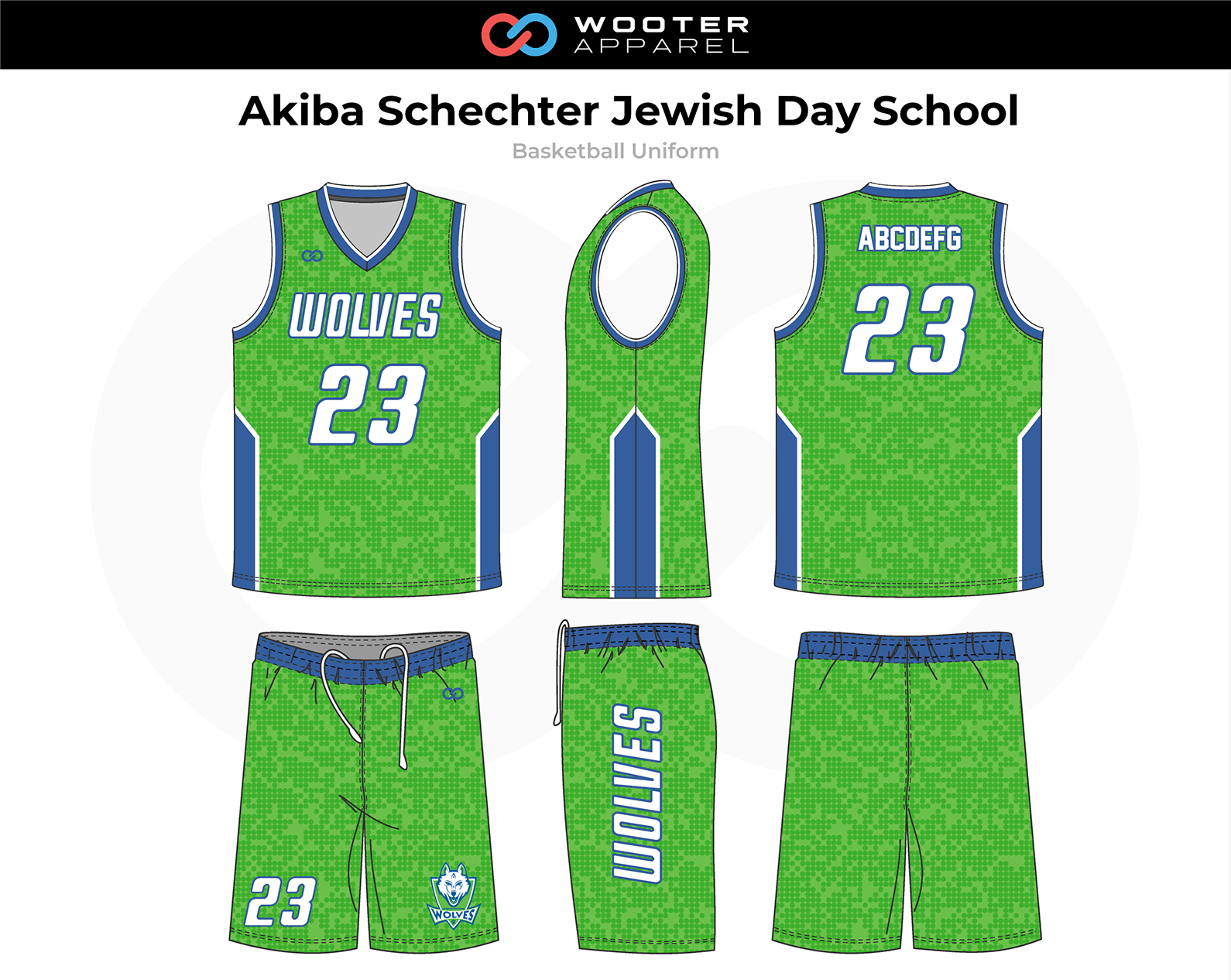 2018-10-29 Chai Athletics Basketball Reversible Uniform 2 (Green Side).png