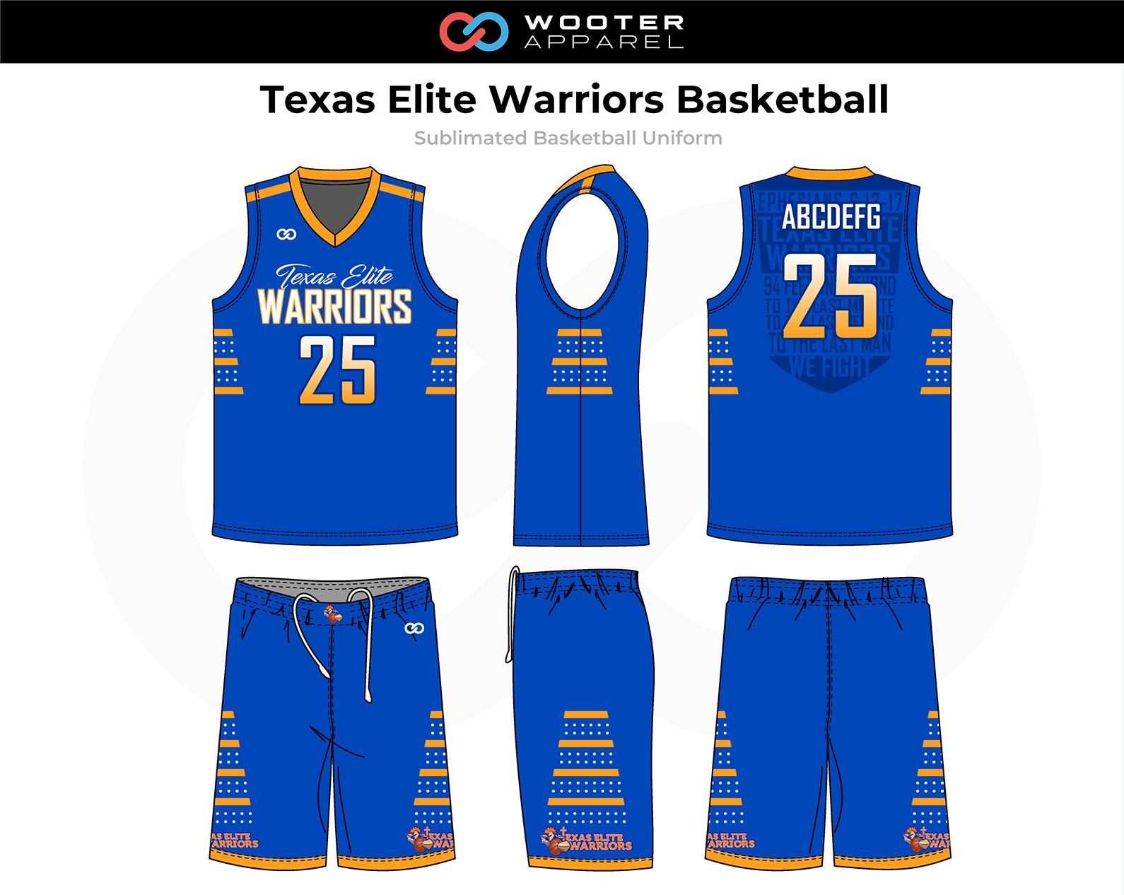 2018-11-08 Texas Elite Warriors Basketball Uniform (Blue).png