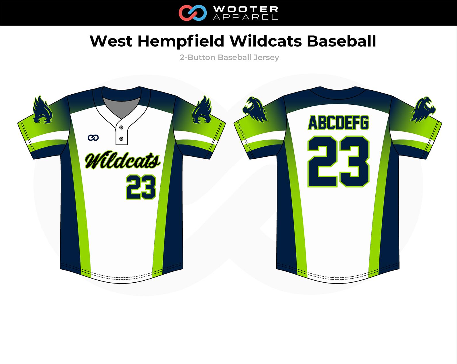 2018-11-06 West Hempfield Wildcats Baseball 2-Button Jersey.png