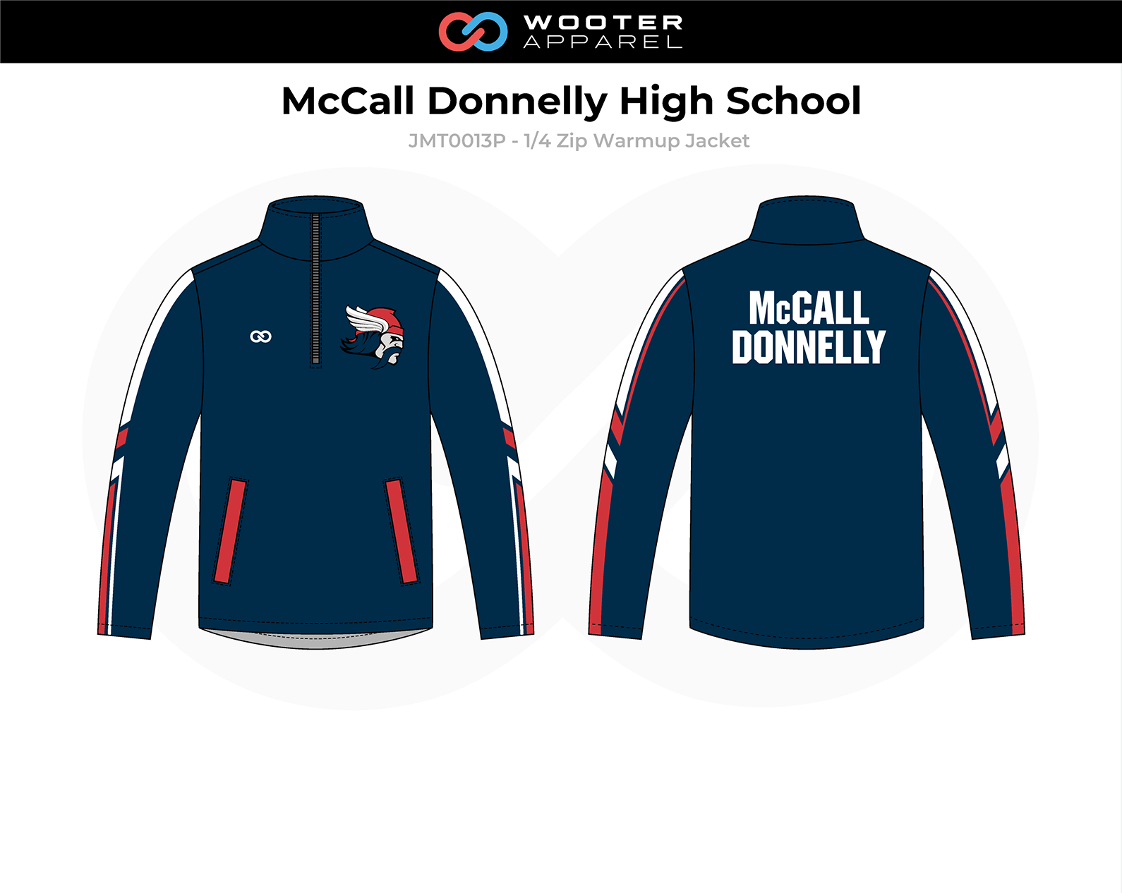 2018-10-25 McCall Donnelly High School Basketball (Panthers) Warmup Jacket (solid sleeves).png