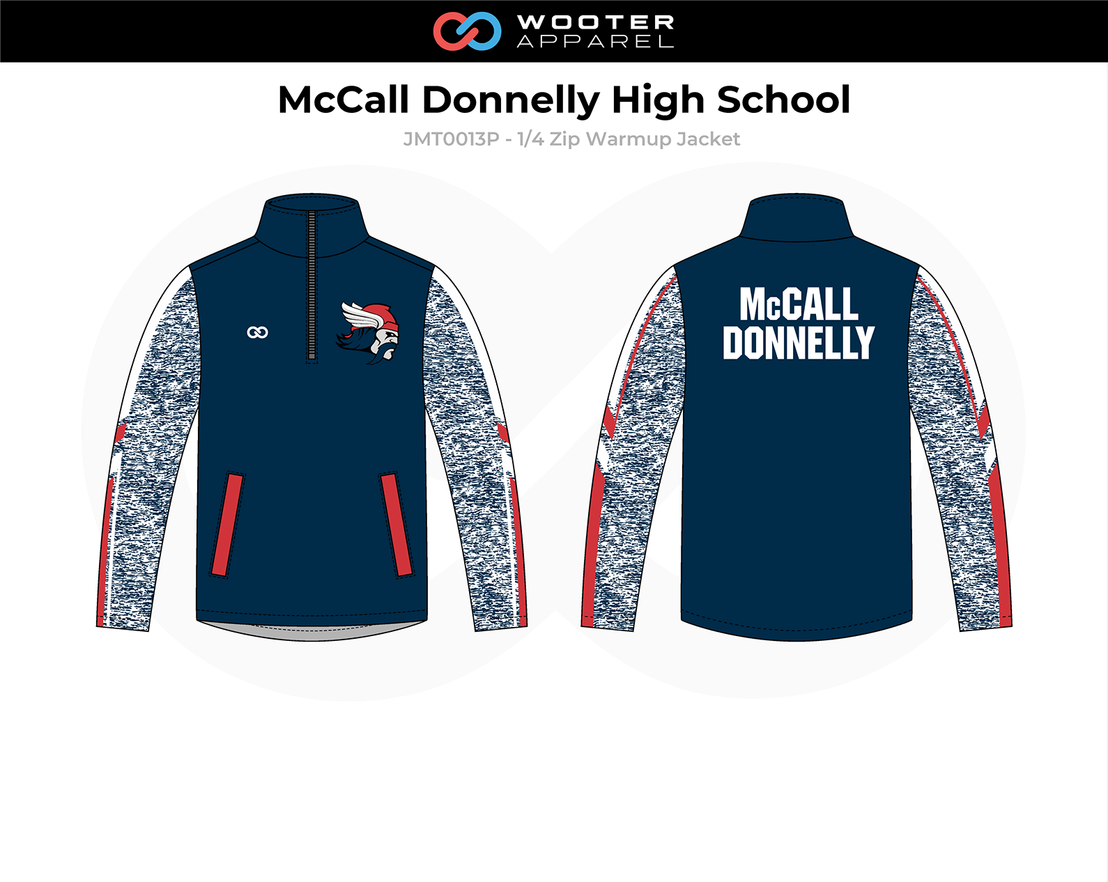 2018-10-25 McCall Donnelly High School Basketball (Panthers) Warmup Jacket (pattern sleeves).png