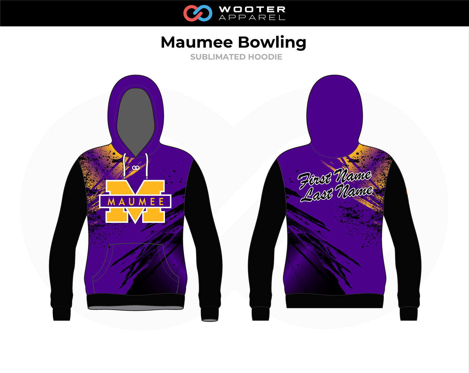 2018-11-05 Maumee Panthers Bowling Hoodie (Cedar Park).png