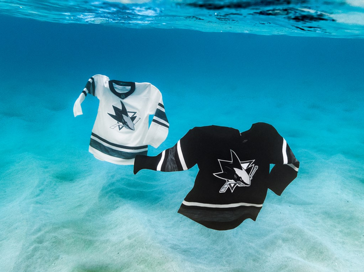When NHL stars hit the ice for All-Star Weekend on January 25th in San Jose, they'll be sporting the new eco-innovative and first-ever jerseys made from repurposed and upcycled materials created in partnership with Adidas and Parley for the Oceans.