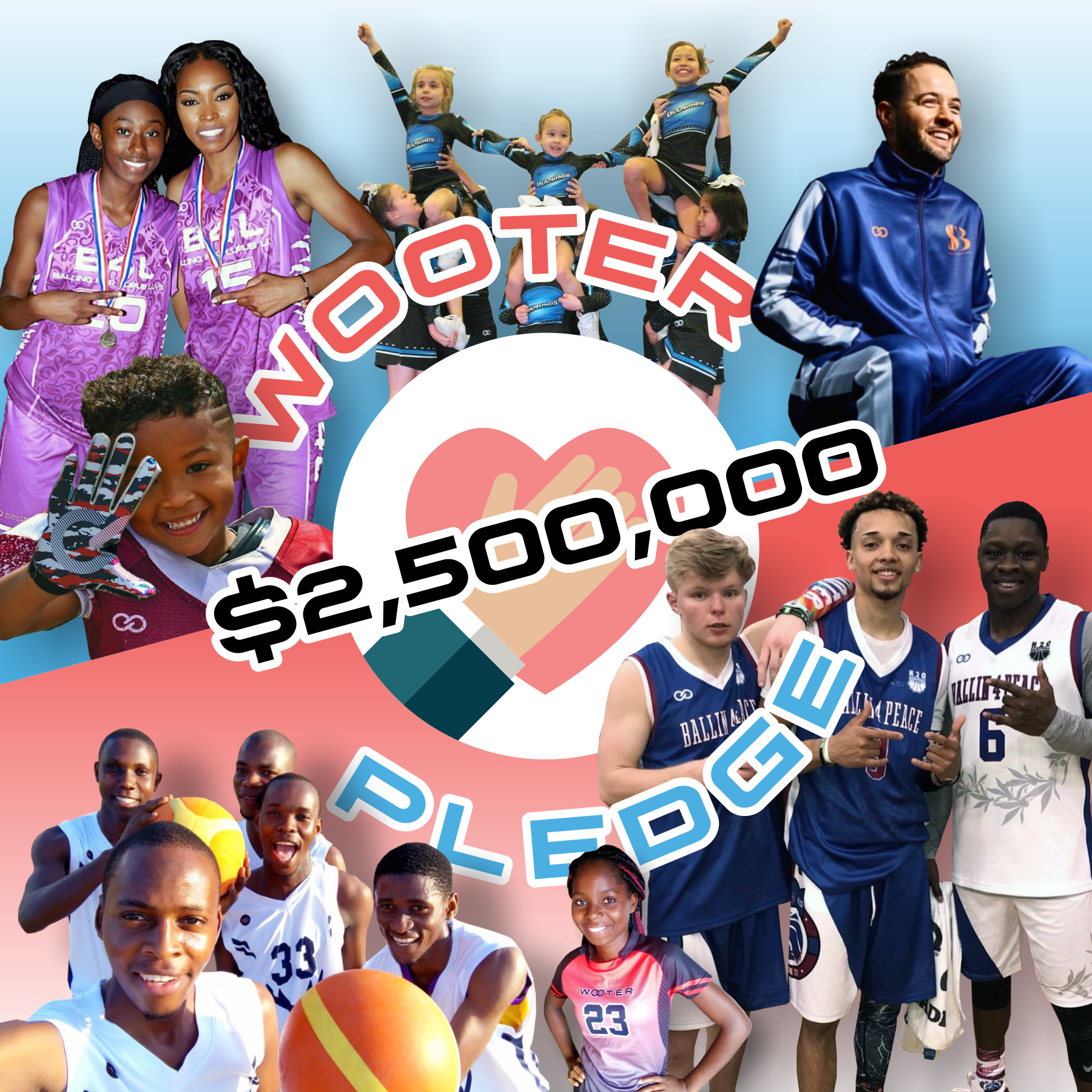 The Big Give Back: Wooter just announced they will be pledging $2.5M to establish new programs, help support underfunded organizations and create new opportunities for our kids to develop the skills they need to be successful.