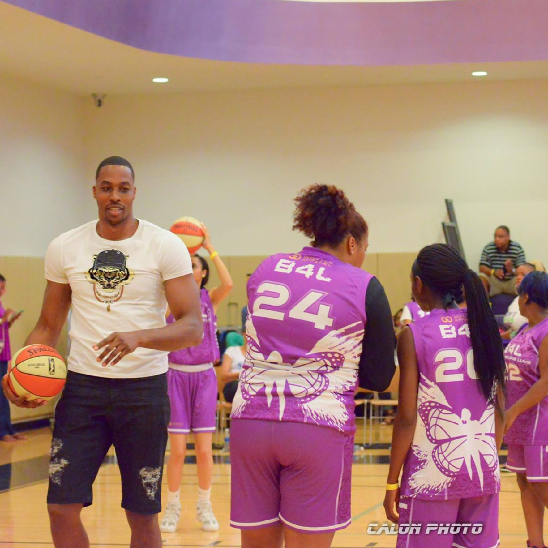 With a roster including actresses, entertainers, music and media personalities, some of the celebrity coaches for Balling 4 Lupus have ranged from Tiffany Hayes (WNBA), Cheryl Ford (WNBA), and Dwight Howard (NBA center and the first ever male coach for the event).