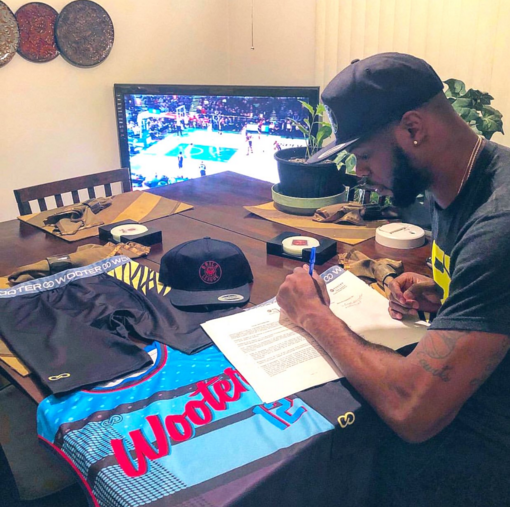 In 2017, the BRICK League was officially born thanks to the partnership of Cody Ballard and Coach Renny Tyson of IBT Academy. The hard work continues to pay off in Columbus, Ohio entering year three with Ballard and Coach Tyson, as the BRICK League and IBT Academy become the newest sponsorship partner of Wooter Apparel.