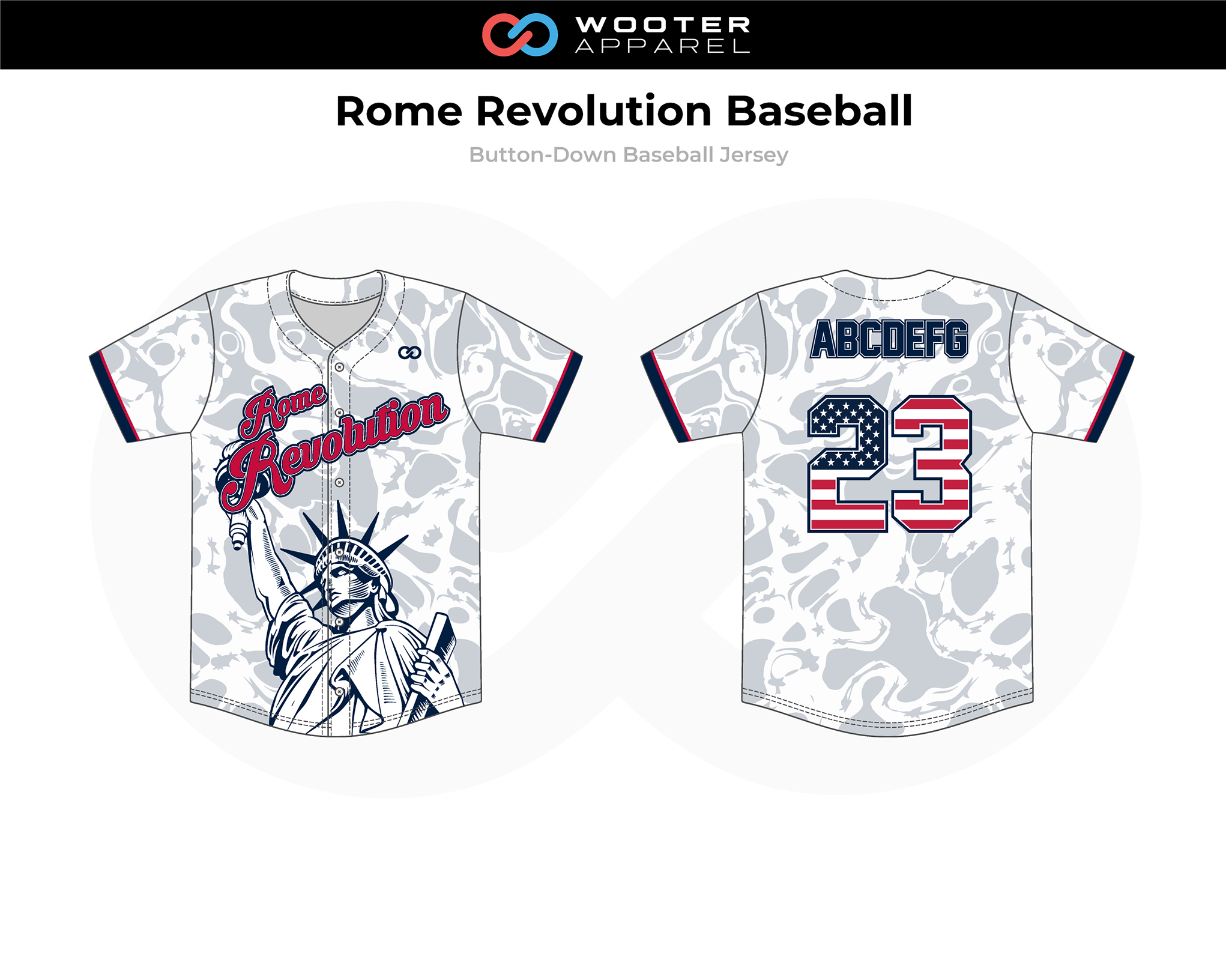2019-02-18 Rome Revolution Baseball Button-Down Jersey (B).png