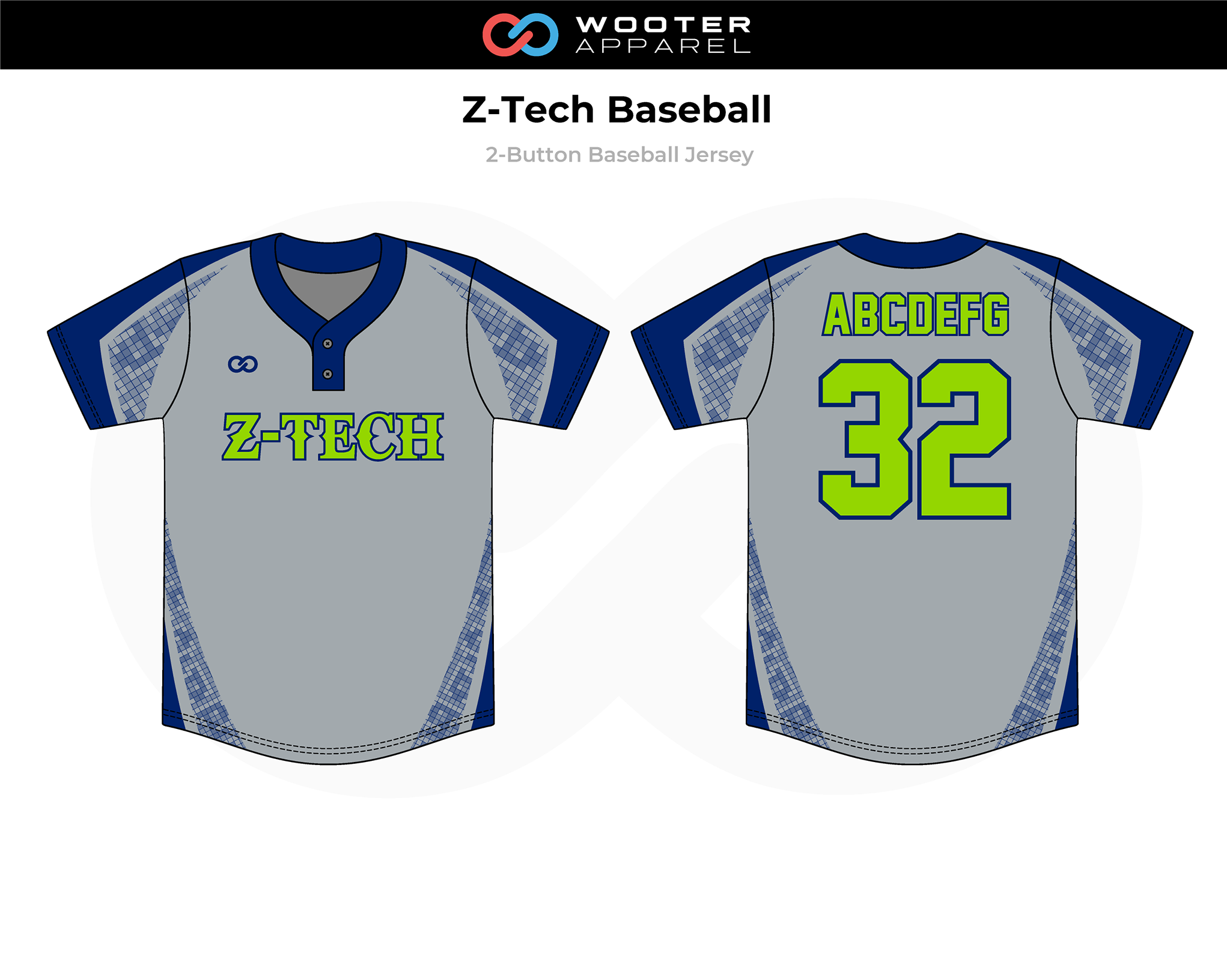 2019-03-06 Z-Tech Baseball 2-Button Jersey (Gray).png