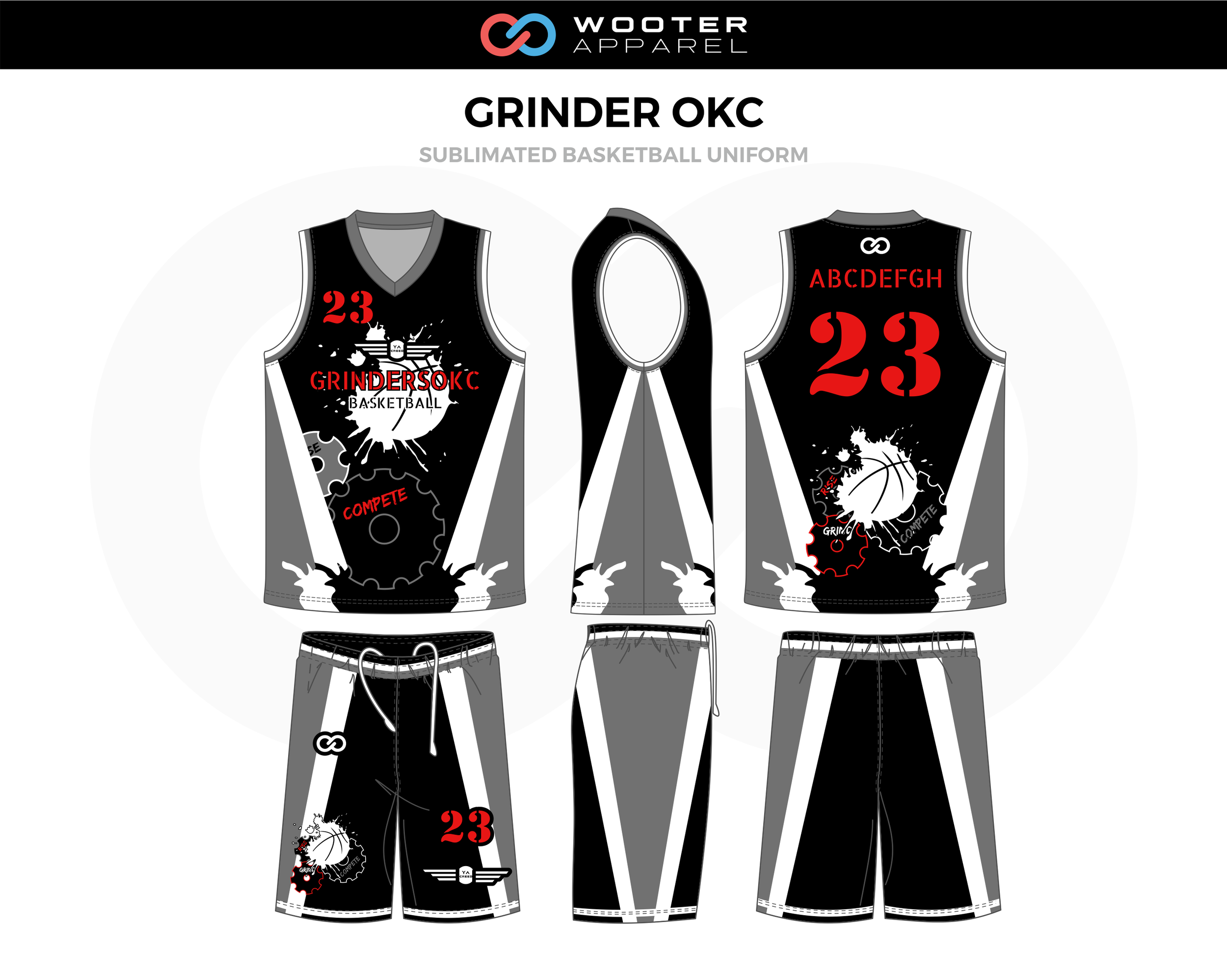 the latest 0ebe3 7c344 Basketball Uniform Designs — Wooter Apparel | Team Uniforms ...