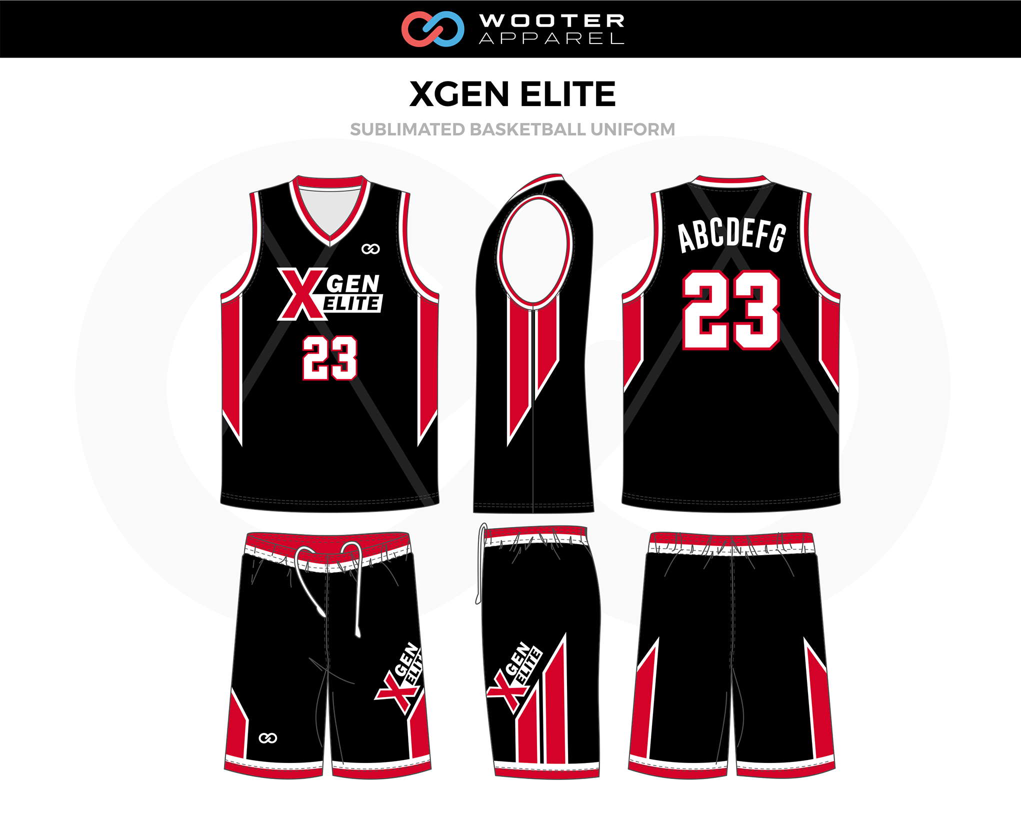 the latest dc497 f4561 Basketball Uniform Designs — Wooter Apparel | Team Uniforms ...