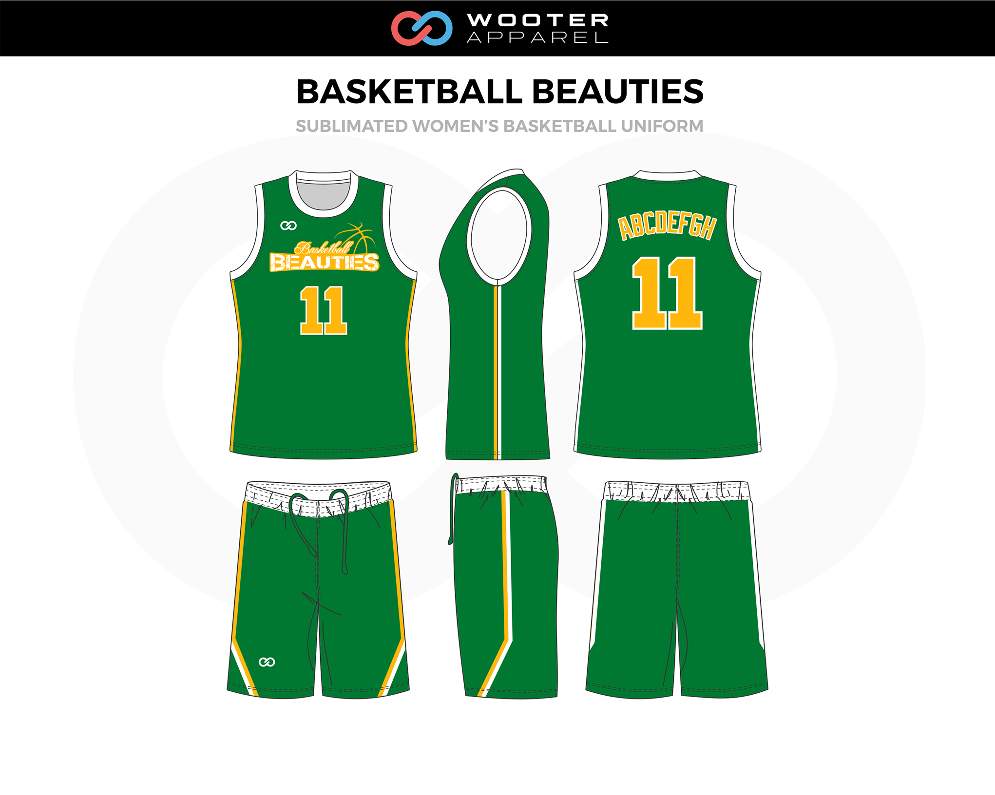 the latest 22db3 aee30 Basketball Uniform Designs — Wooter Apparel | Team Uniforms ...