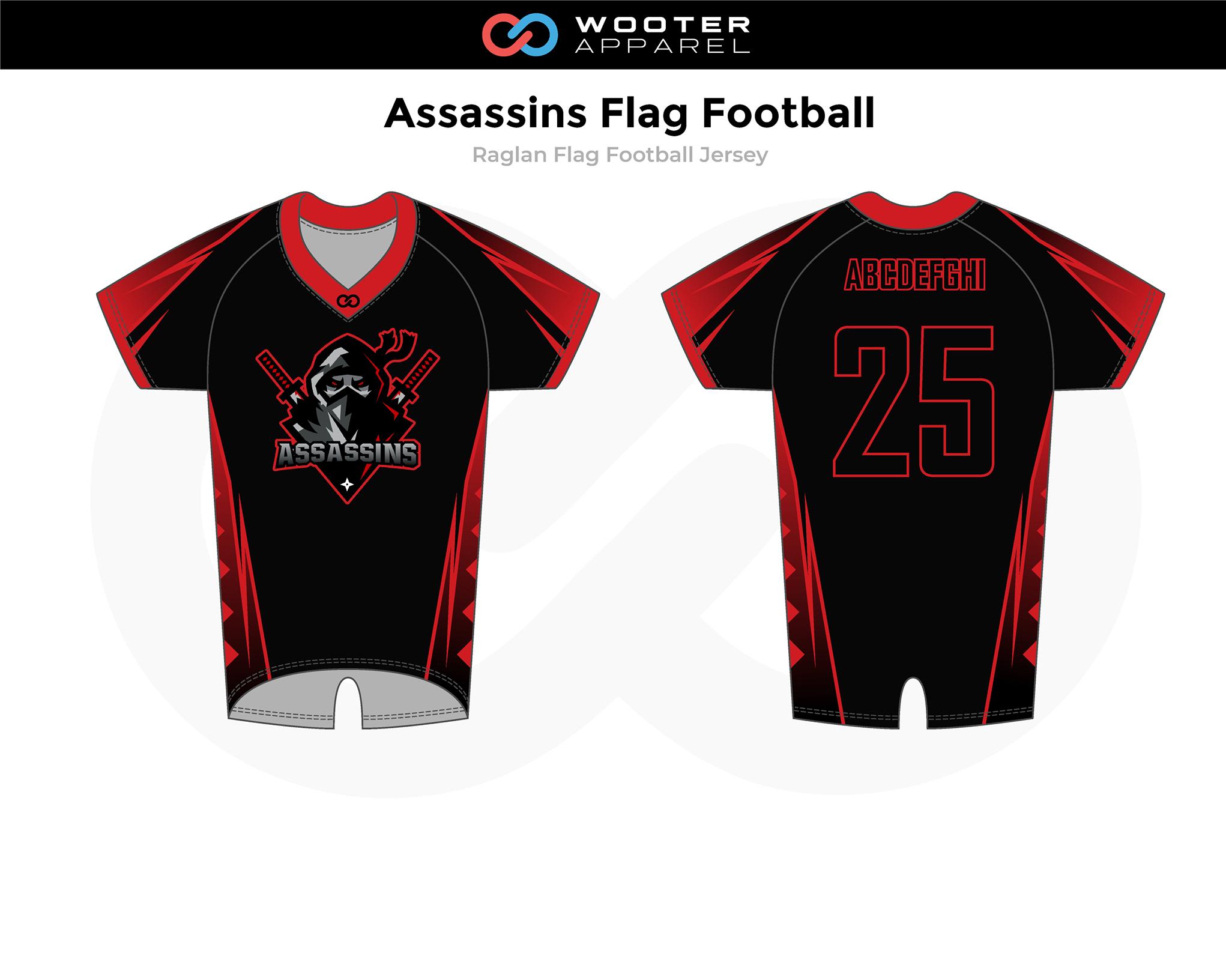 2019-01-23 Assassins Flag Football Raglan Jersey (Black).png
