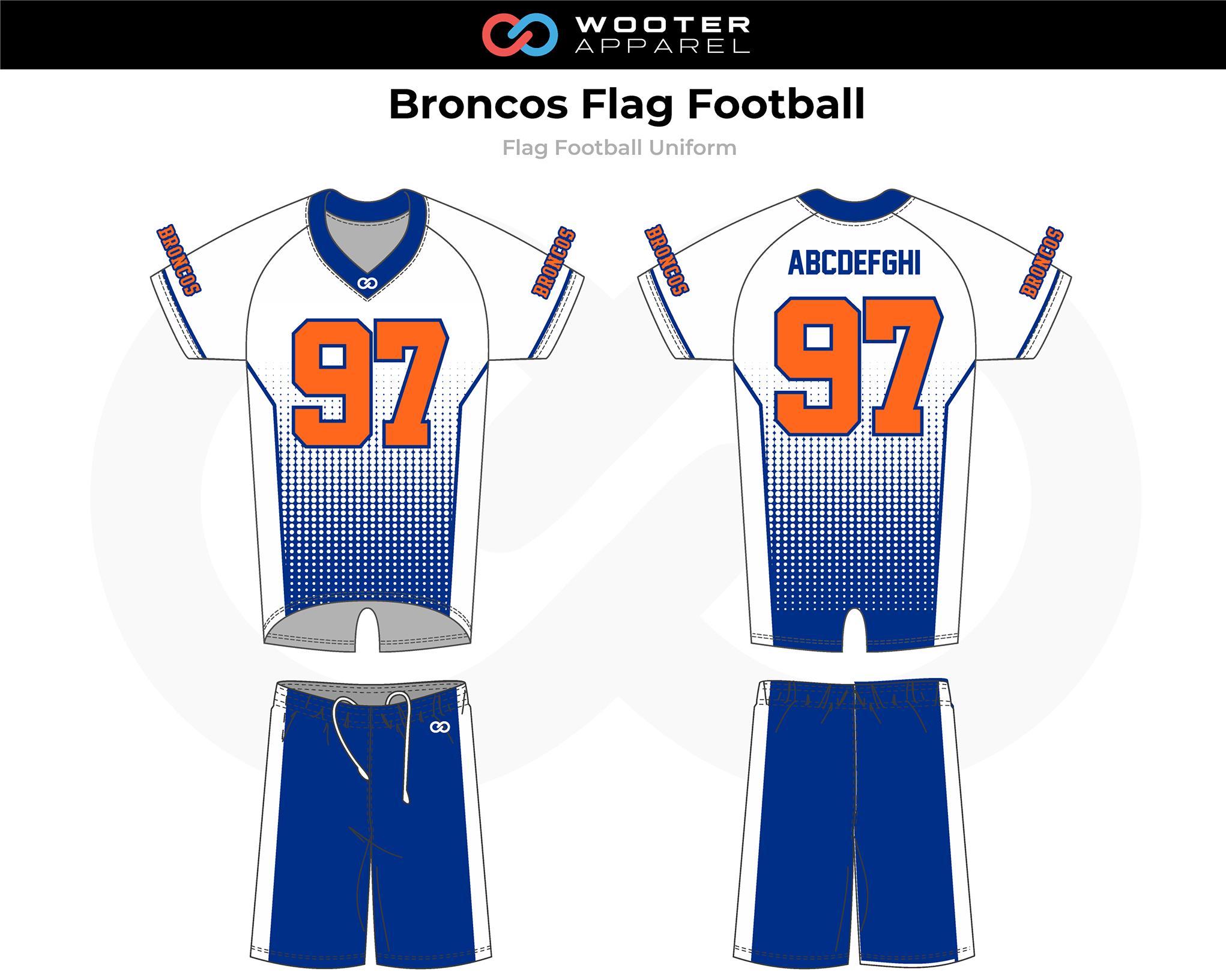 2019-02-04 Broncos Flag Football Uniform (Dots) (Away).png