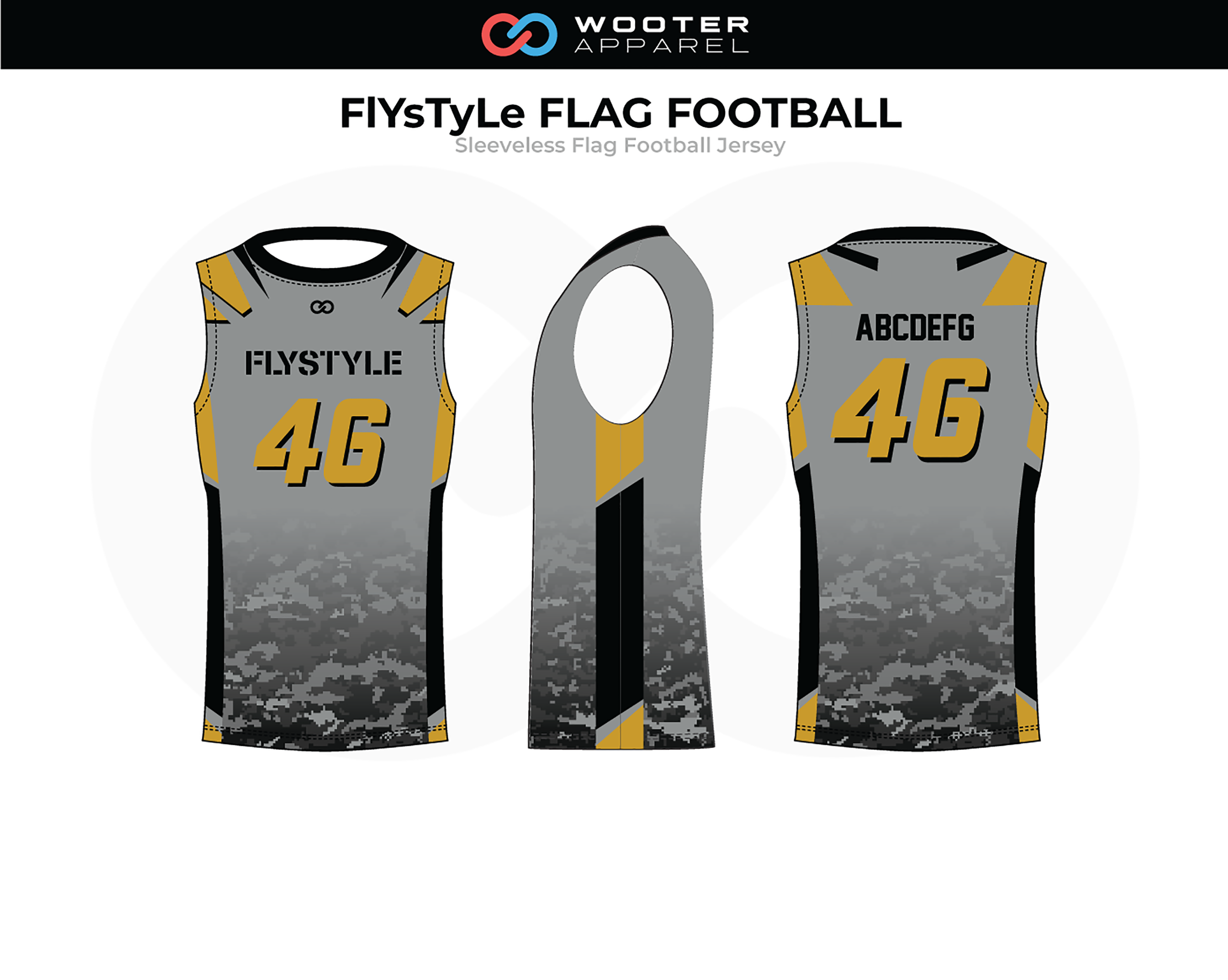 on sale 3a0c5 7a69d Flag Football — Wooter Apparel | Team Uniforms and Custom ...