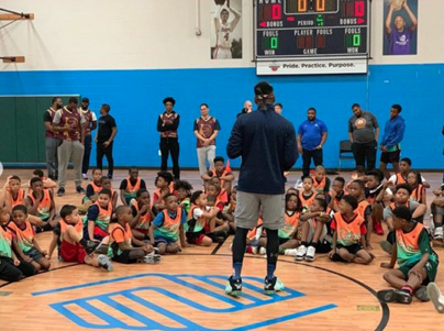 Smush Parker recently returned to Cleveland to host a free basketball clinic at the Boys and Girls Club of America. It was the perfect way to show some love to the same city that gave Parker his NBA start as an undrafted rookie in 2002.