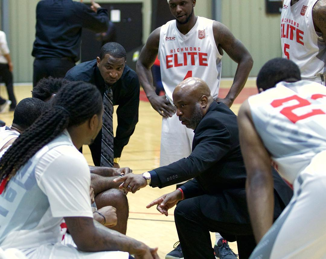 All In: After knocking off St. Louis on their home court in the Elite 8, the Coach Gene E. Brown and the Richmond Elite finished out their memorable season in the ABA by playing tough and together in the Final Four against the South Florida Gold.