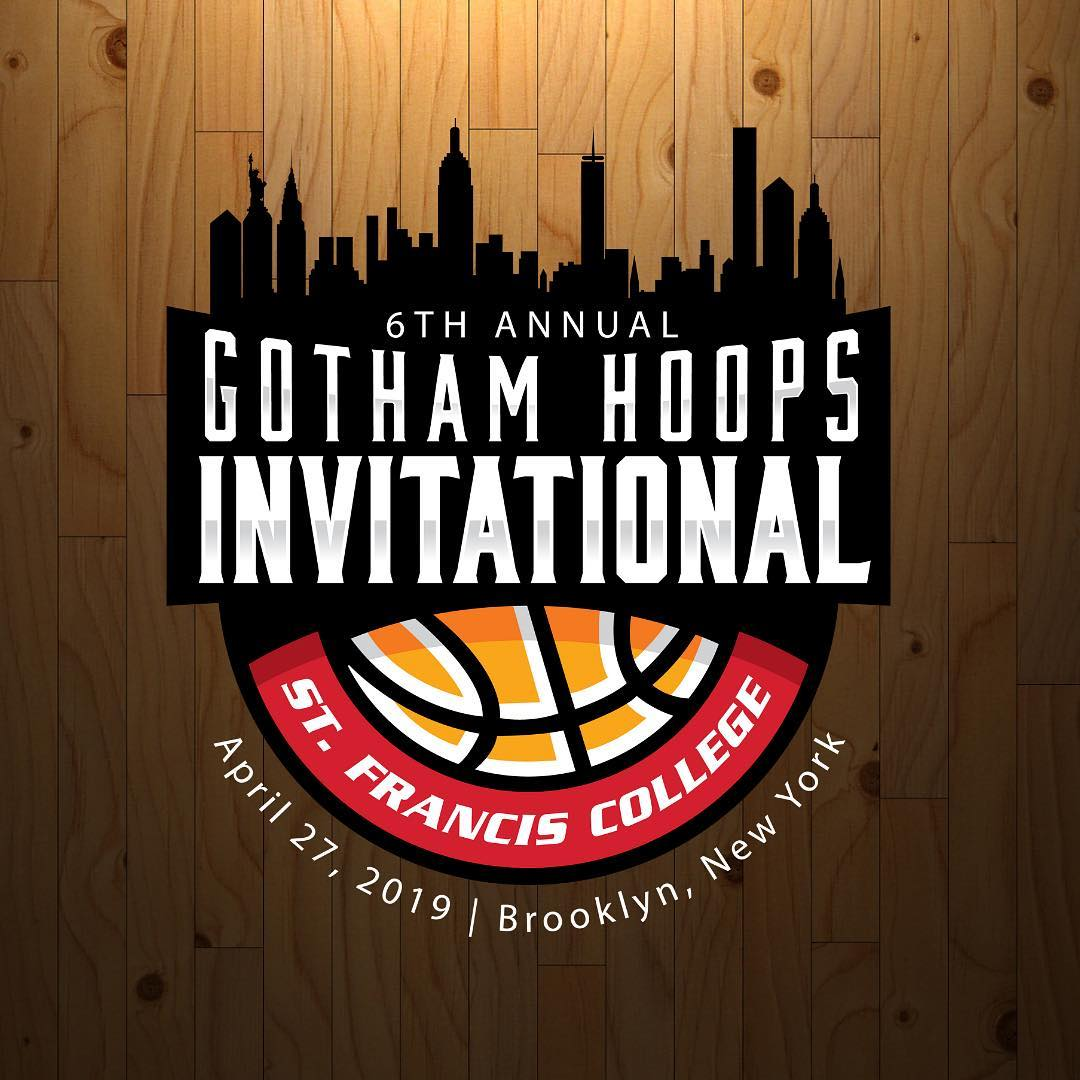 Ready For Brooklyn: The 2019 Gotham Hoops Invitational is set for April 27 at St. Francis College (Brooklyn, NY). This years' tournament features 36 top men's college basketball seniors. Admission is free and all four games will broadcast live on the  Gotham Hoops official website .