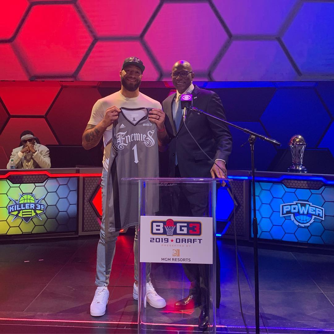 Back In The Game: The 16th overall pick in the 2012 NBA Draft, Royce White played three NBA seasons and in Canada's NBL before becoming the No. 1 overall pick by the Enemies in the 2019 BIG 3 Draft.